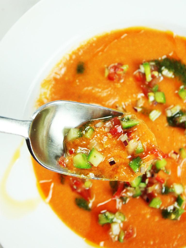 classic chilled gazpacho