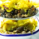 Mushroom Cottage Pie Plant-based