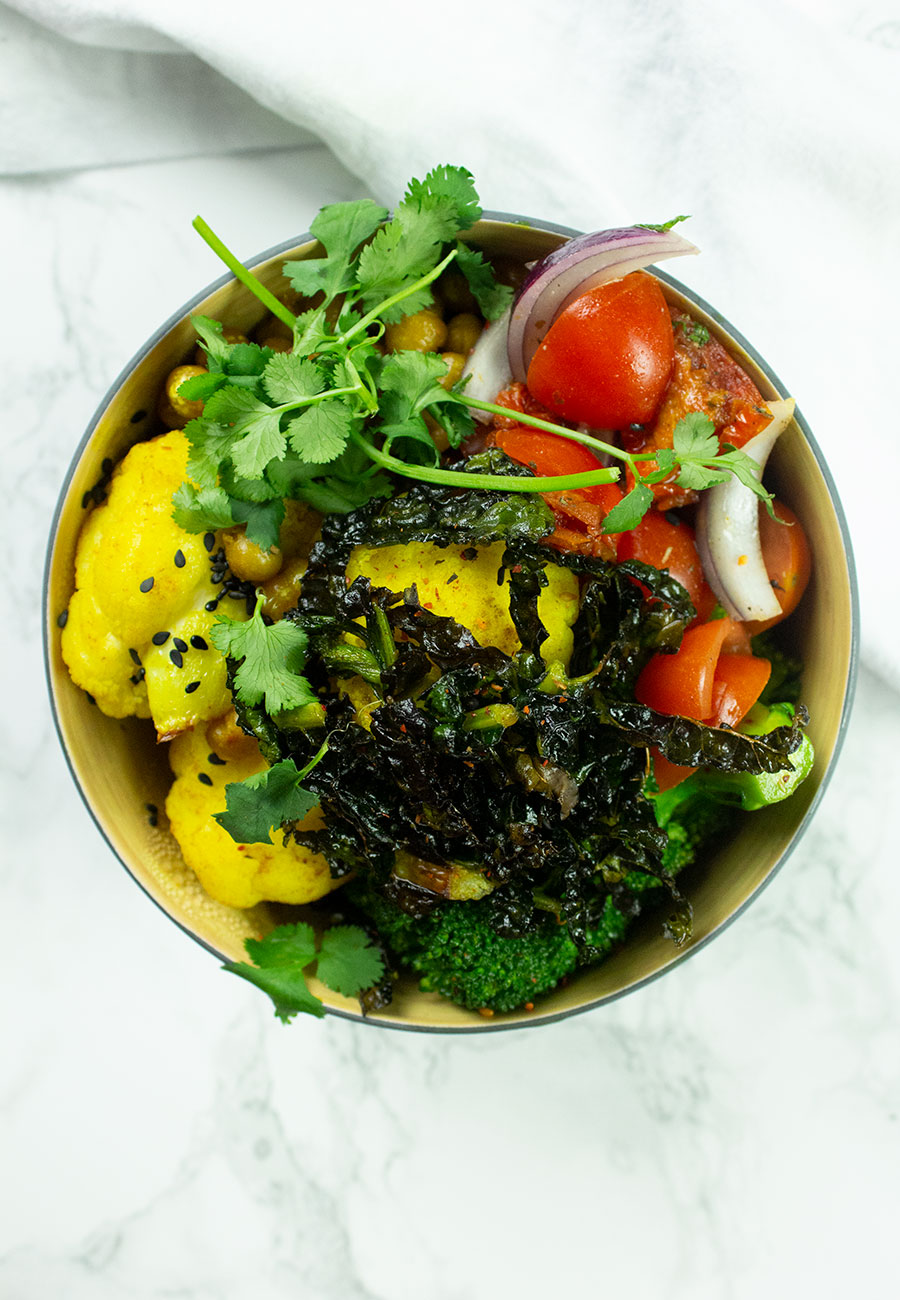 plant-based Buddha bowl recipe