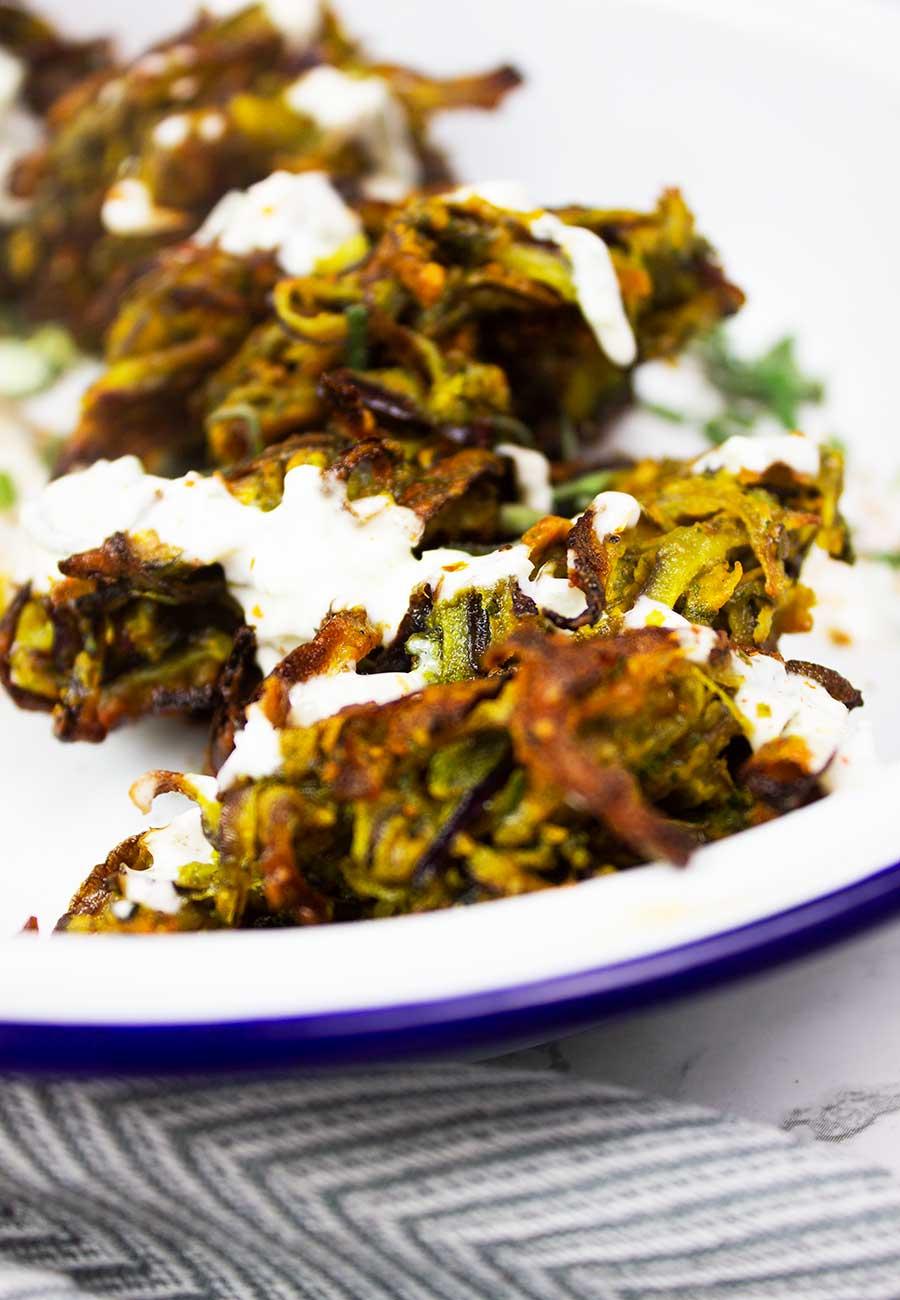 How to make onion bhajis