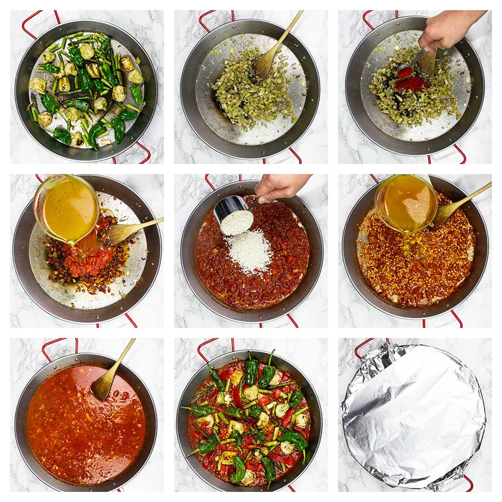 How to make paella step-by-step