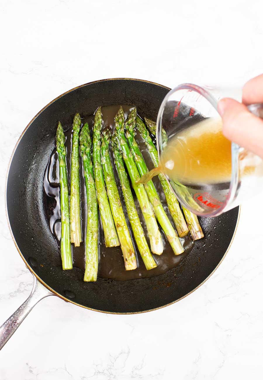 Asparagus with tamarind