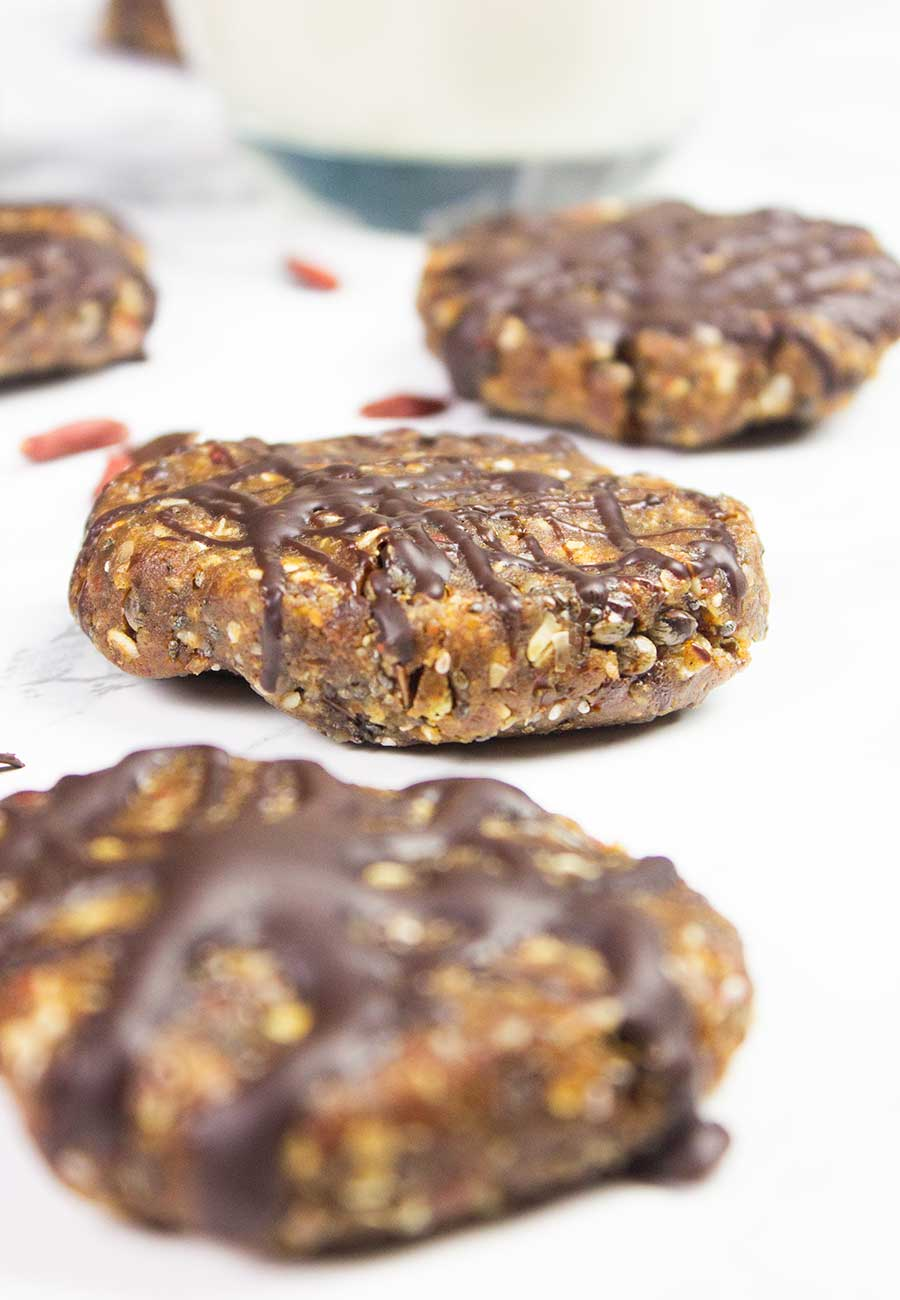 Homemade protein-packed and energy-boosting cookies