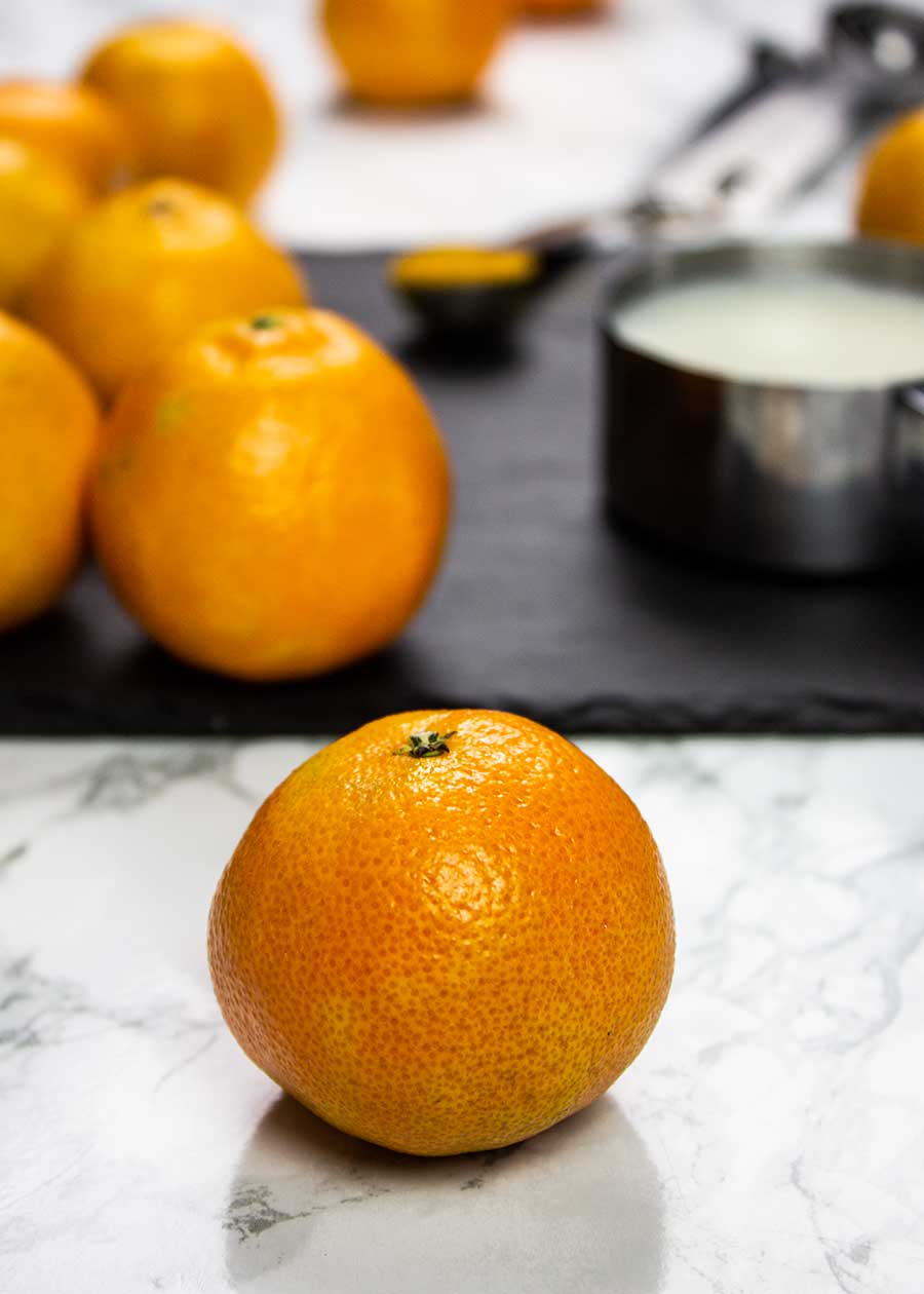Clementine smoothie ingredients