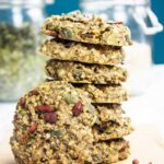 Healthy oatmeal banana cookies