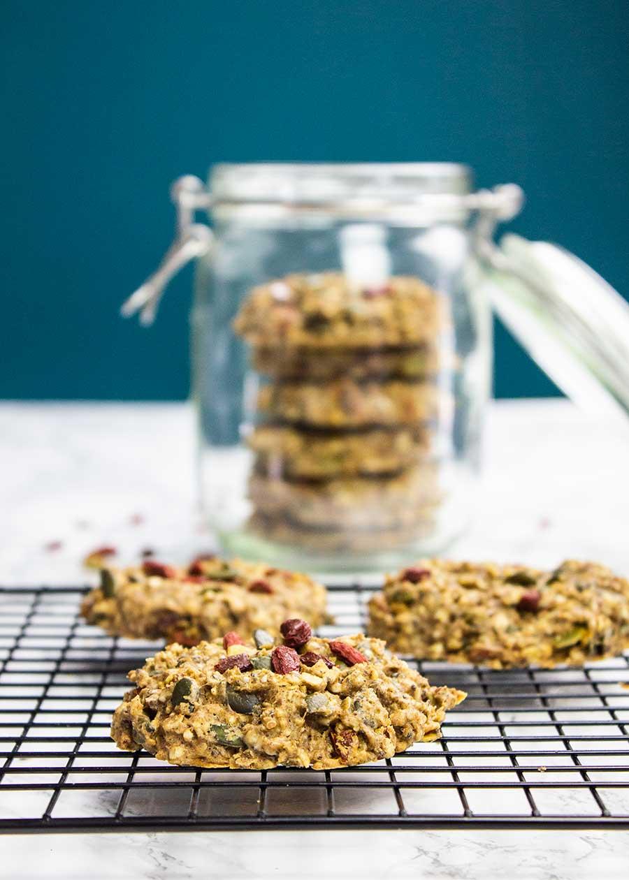 Healthy superfood cookies