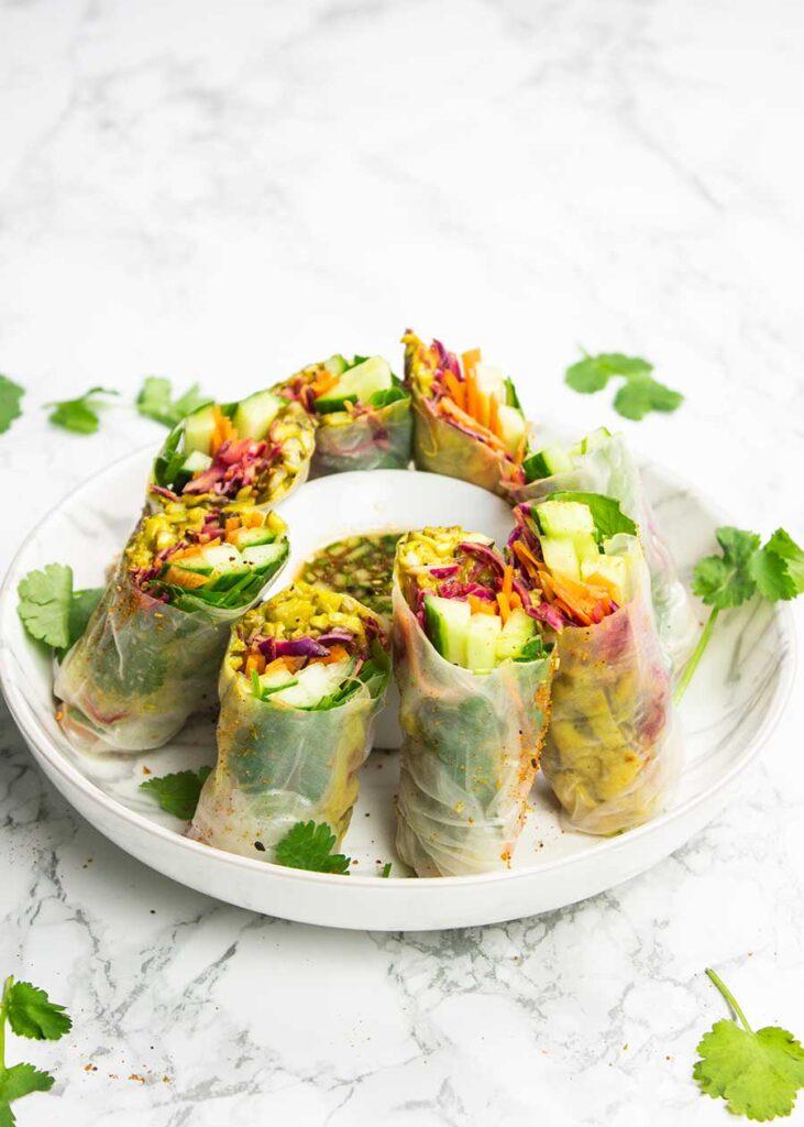 Fresh summer rolls