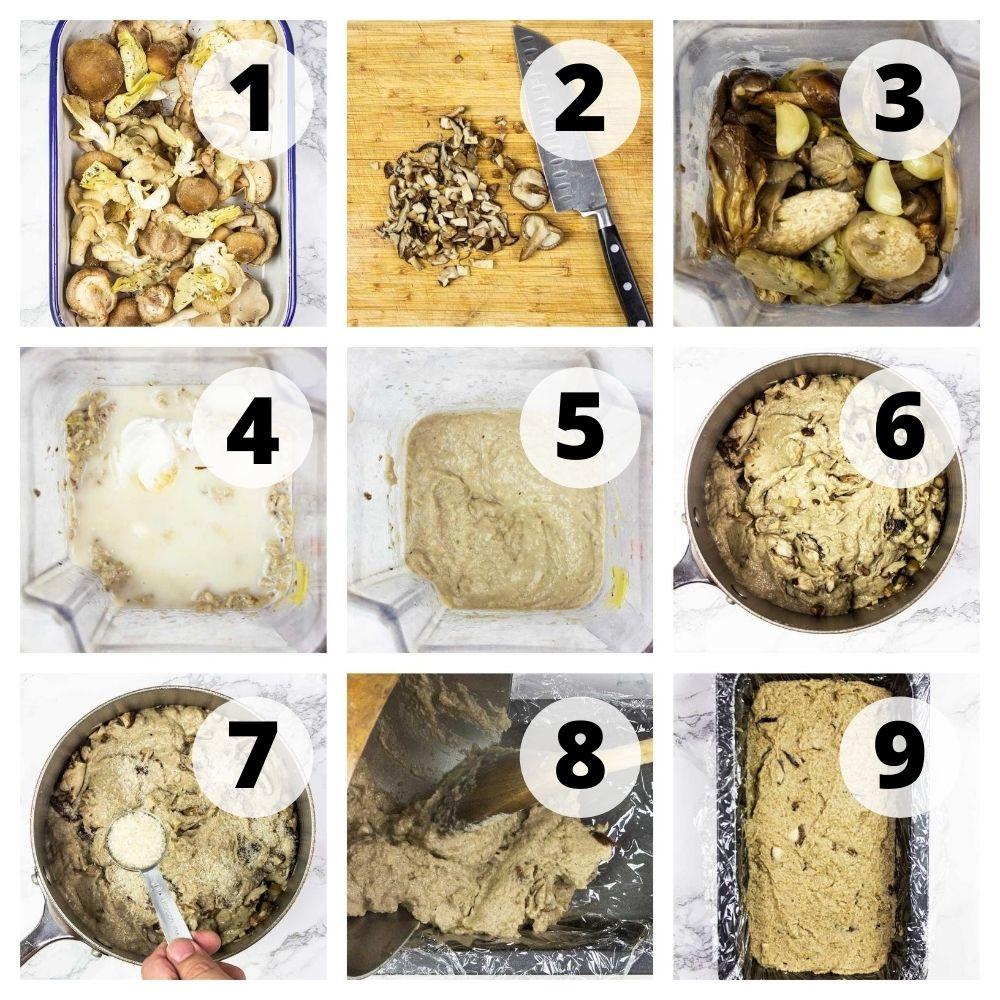 How to make a vegan pâté - Step-by-step