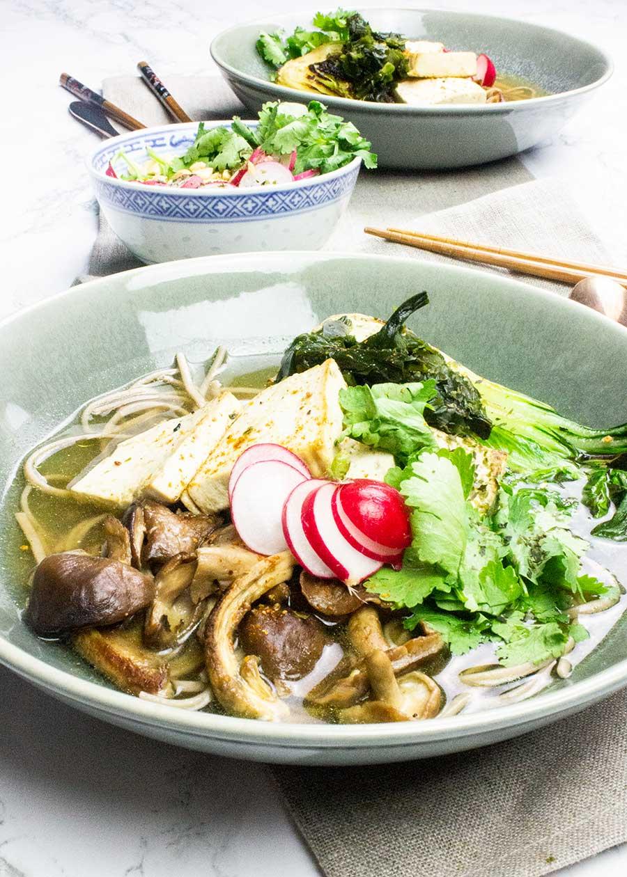 Healing ramen soup