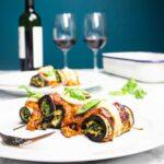 Eggplant rollatini/aubergine cannelloni