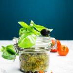 Black olive pesto