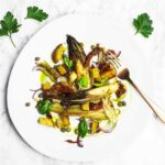 Braised endive salad