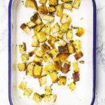 Easy homemade sourdough croutons