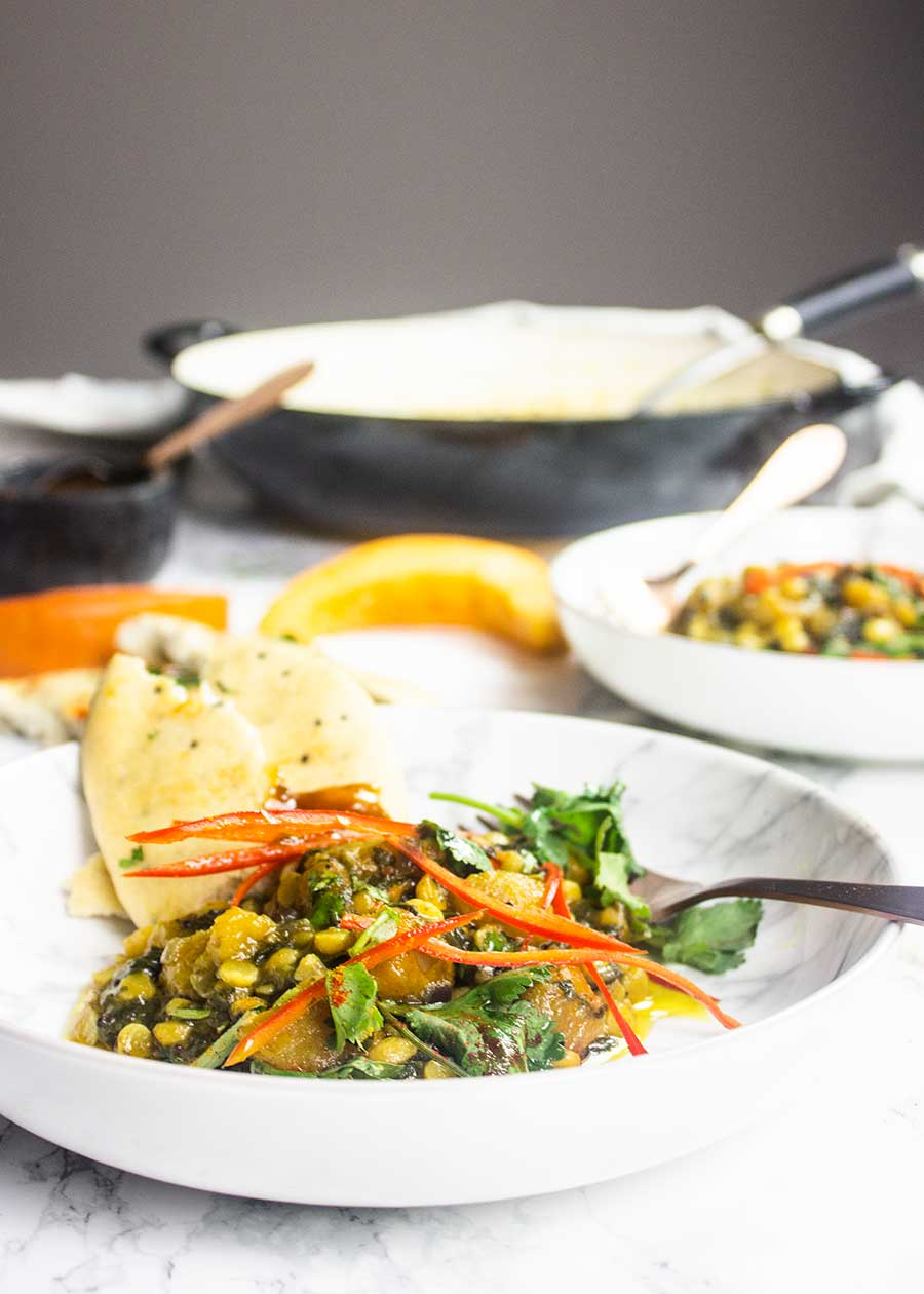 Mouthwatering Indian vegan curry
