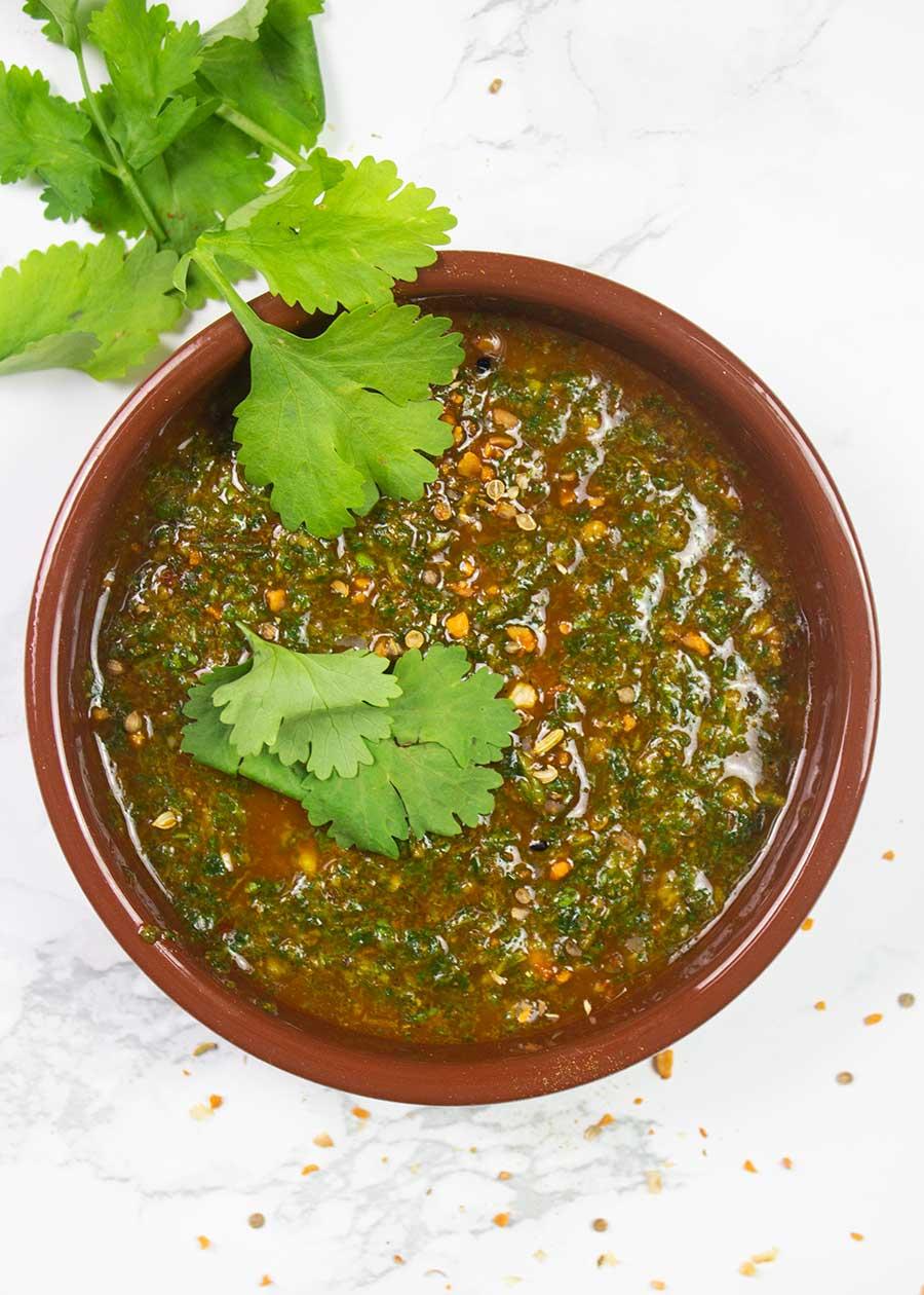 Easy Zhoug Sauce