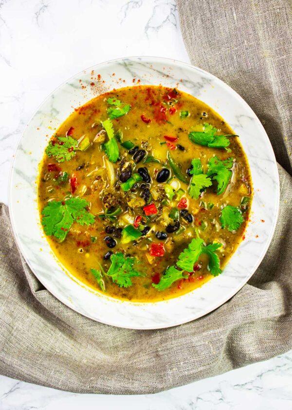 Delicious Mexican Black Bean Soup Recipe