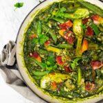 Vegan green stew recipe