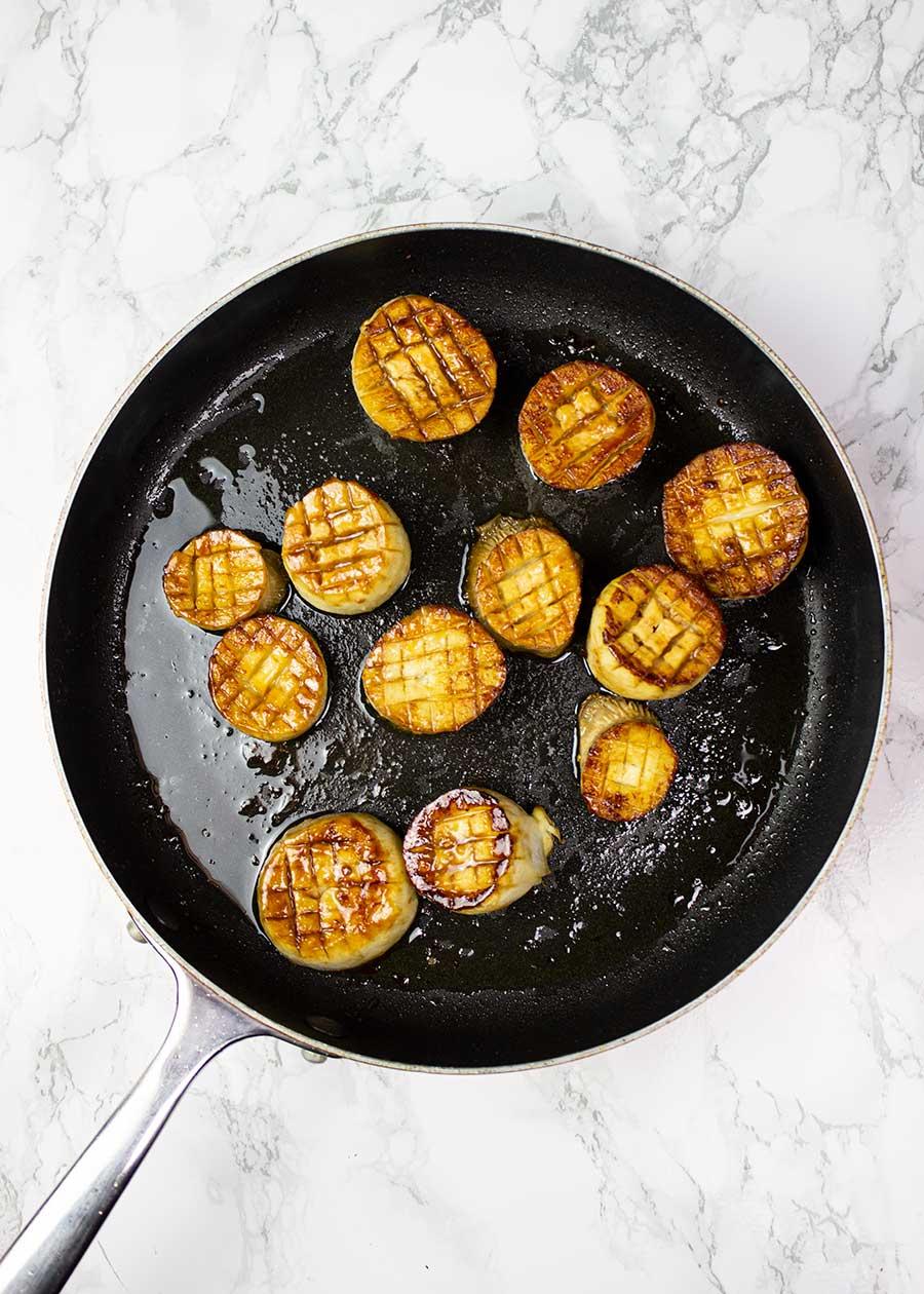 How to make vegan scallops